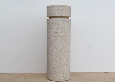 Cyllindrical Bollard Sandblast