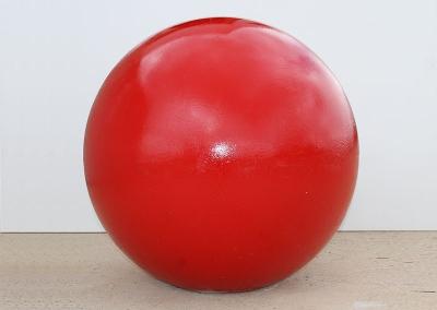 Red Precast Bollard